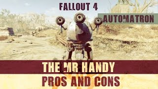 Download Fallout 4: Robot Companion Pros and Cons: The Mr Handy Video