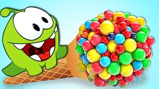 Download Om Nom Stories: OM NOM VS GIANT CANDY LOLLIPOPS | Cut the Rope | HooplaKidz TV | LIVE 🔴 Video