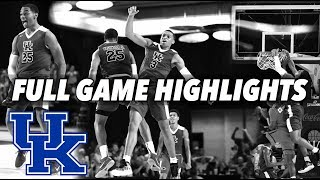 Download KENTUCKY VS MEGA BEMAX (FULL GAME HIGHLIGHTS) - Kentucky highlights only 8.11.18 Video