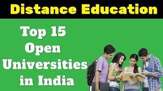 Download Top 15 Open Universities in India - Distance Education Institutes Video