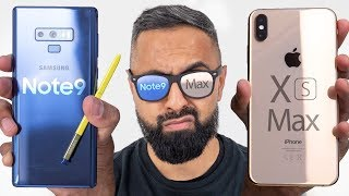 Download iPhone XS Max vs Samsung Galaxy Note 9 Video