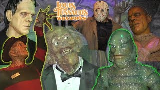 Download Spooky Wax Museum with Freddy Krueger, Frankenstein, Mummy, Taylor Swift| Louis Tussaud's | DavidsTV Video