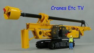 Download Yagao XCMG XR220 Rotary Drilling Rig by Cranes Etc TV Video