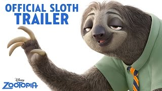 Download Zootopia Official US Sloth Trailer Video