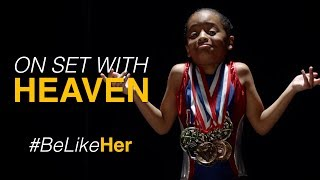 Download Heaven as Simone Biles (Behind The Scenes) Video