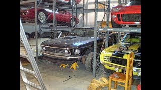 Download True Holy Grail Barn Find, 1969 Drag Pack Mustang Convertible, One of 8 Video
