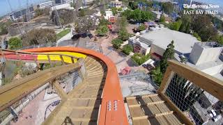 Download RailBlazer: What it's like to ride Great America's new roller coaster Video
