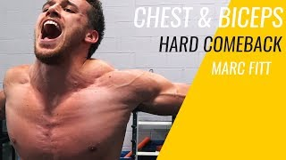 Download IT HURTS LIKE CRAZY - MY FIRST CHEST & BICEPS WORKOUT Video