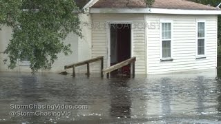 Download Hurricane Matthew Hits The Carolina's - NC & SC footage - 10/8/2016 Video