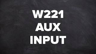 Download Mercedes W221 Aux Input - Mercedes Benz W221 S Class AUX Audio Input, Camera, DVD, Video In Motion Video