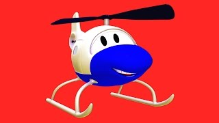 Download Hector The Helicopter with his friends in Car City: Tom The Tow Truck, Car Patrol and Troy The Train Video