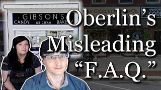 Download Softball! Oberlin Lobs Misleading Questions in new Gibson's Defamation ″F.A.Q.″ Video