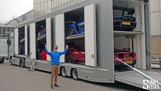 Download 6 of My Cars in 1 Big Truck! Video