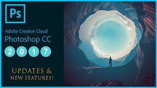 Download What's New in Adobe Photoshop CC 2017 Update Tutorial - (Features: Search bar, Templates, Emojis) Video