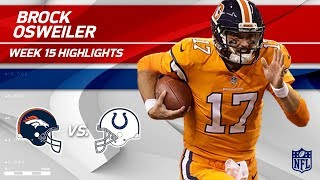 Download Brock Osweiler Steps In & Gets the Win w/ 3 TDs vs. Indy! | Broncos vs. Colts | Wk 15 Player HLs Video