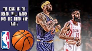 Download The King vs The Beard: Will James Harden lose his third MVP race? Video