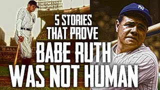Download 5 Stories That Prove Babe Ruth WAS NOT HUMAN! Video