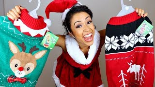 Download TRYING ON DOG COSTUMES!! HAPPY HOLIDOG. Video