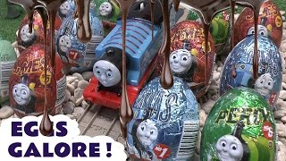 Download 20 Surprise Eggs Thomas and Friends Kinder Surprise Toys Superhero Thomas The Tank Engine Eggs Video