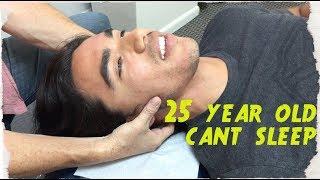 Download 25 year hasn't SLEPT in 5 YEARS. Chiropractor Turns LIFE around. Video