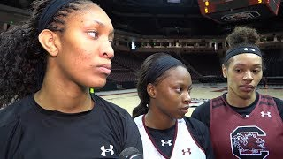 Download A'ja Wilson, Bianca Jackson, Alexis Jennings Media Availability — 6/16/17 Video