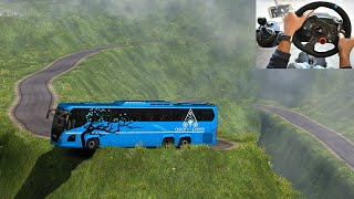 Download Scania Thrilling bus driving | Indian Driver | Euro truck simulator 2 with bus mod Video