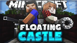 Download INSANE FLOATING CASTLE SIEGE WITH GUNS in MINECRAFT Video