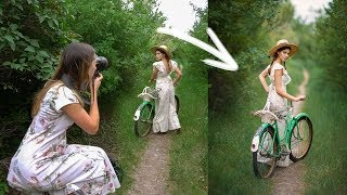 Download Natural Light Photoshoot with 85mm 1.2 Lens, Behind The Scenes Video