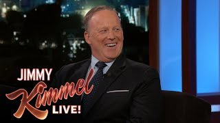 Download Jimmy Kimmel's FULL INTERVIEW with Sean Spicer Video