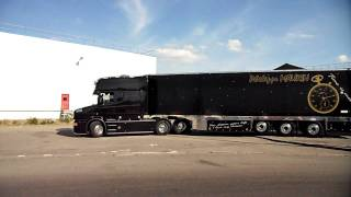 Download Scania T Longline V8 Transports Philippe Maurin (Routiers-de-chato-44.sky') Video
