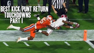 Download Best Kick/Punt Return Touchdowns of the 2015-16 College Football Season || Part I ᴴᴰ Video