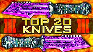 Download Top 20 ″PAINT SHOP KNIVES″ in Black Ops 3 Paint Shop - Ep.2 (Top 20 - Top Twenty) | Chaos Video