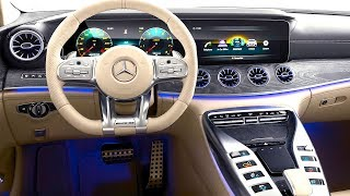 Download Mercedes AMG GT INTERIOR In Detail New Mercedes AMG GT INTERIOR Options 2019 Video