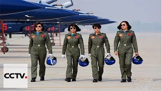 Download China's female fighter pilots show their mettle Video