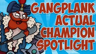 Download Gangplank ACTUAL Champion Spotlight ft. Tobias Fate Video