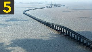 Download Top 5 Ridiculously LONG Bridges Video