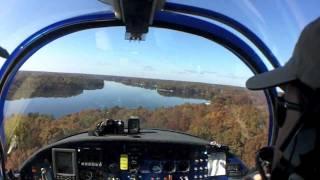 Download Glassy-Water Seaplane Landing Surprises Passenger Video