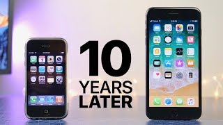 Download First iPhone 10 Years Later (iOS 1.0 vs 11.0) Video