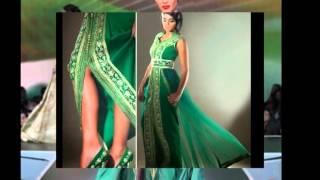 Download Collection Caftans et takchitas couleur vert Video