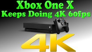 Download ANOTHER 4K & 60fps Game For The Xbox One X! The Beast Keeps Doing What Haters Say It Can't! Video