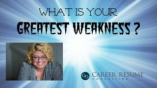 Download Executive Job Interview Advice: Answering the Greatest Weakness Question Video