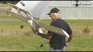 Download Horrible scratch-built RC plane crash (with a special guest from Star Trek) Video