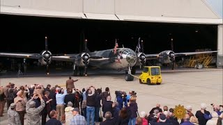 Download Restored B-29 takes to the air Video