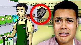 Download REACTING TO TRUE STORY SCARY ANIMATIONS (DO NOT WATCH BEFORE BED) Video