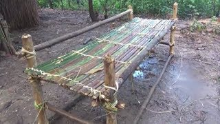 Download Primitive Life-Make BED and PILLOW-Primitive Technology used! Video
