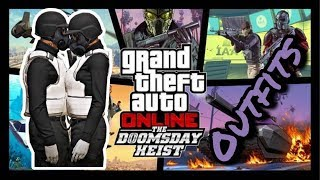 Download ♡ TOP 10 MALE AND FEMALE OUTFITS FT DOOMSDAY HEIST DLC ♡ Video