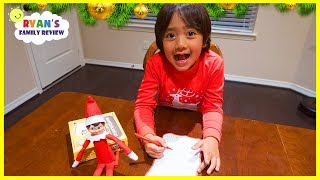 Download Ryan writes a letter to Santa for Presents he wants for Christmas! Video