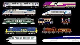 Download Railway Vehicles - Trains and Subways - The Kids' Picture Show (Fun & Educational Learning Video) Video