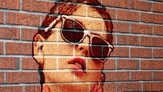 Download Photoshop Tutorial: How to Transform a Photo into a Brick Wall Portrait Video