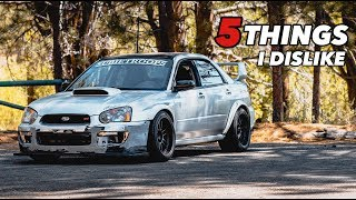 Download 5 Things I Dislike About My Subaru STI Video